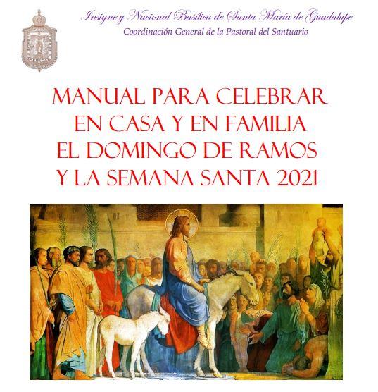 Manual de Domingo de Ramos 2021