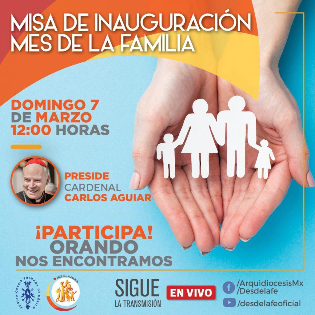 Misa de Inauguración Mes de la Familia