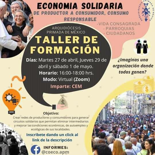Taller de formación Economía Solidaría