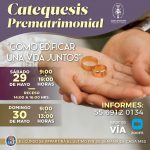 Catequesis Prematrimonial Mayo 2021 v2