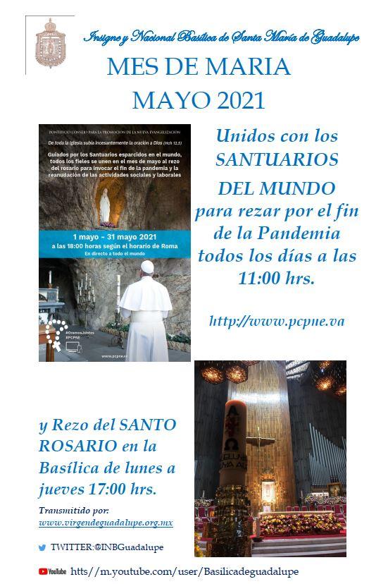 POSTER MES DE MARIA MAYO 2021 INBG