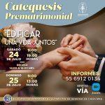 Catequesis Prematrimonial Julio