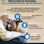 Indulgencia Plenaria en la Jornada Mundial de los Abuelos