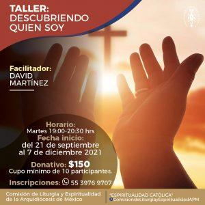 210921 Taller Descubriendo Quién Soy