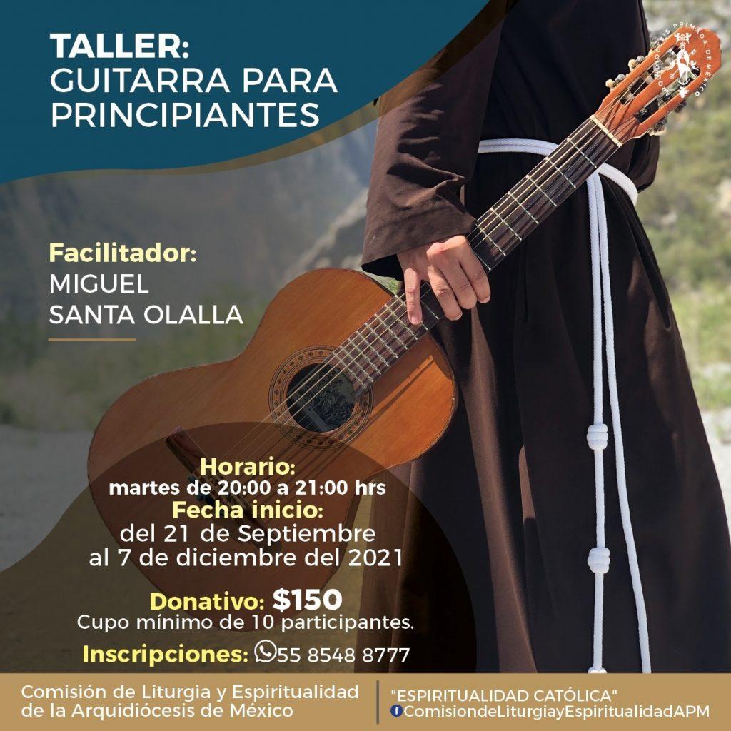 210921 Taller Guitarra para Principiantes