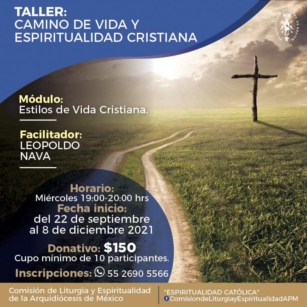 210922 Taller Camino de Vida y Espiritualidad Cristiana